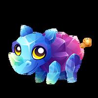 Rock Candy Rhino Baby