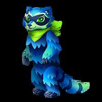 Robber Raccoon Adult
