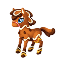 Gingerbread Pony Juvenile
