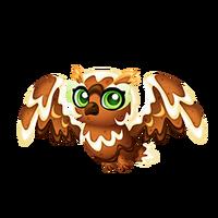 Gingerbread Owl Juvenile