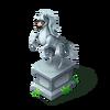 Goofy Pony Statue