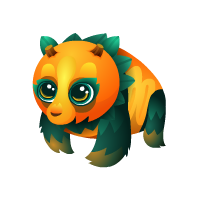 Pumpkin Panda Juvenile