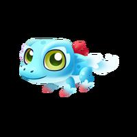 Coral Croc Baby