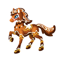 Gingerbread Pony Adult