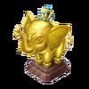 Gold Elephant Trophy
