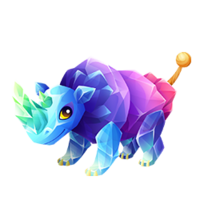 Rock Candy Rhino Adult