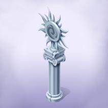 Frosty Statue