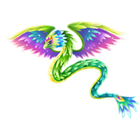 Quartz Quetzalcoatl Adult