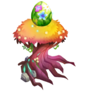 Spring Equifox Egg