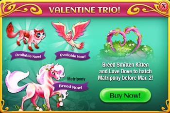 The Valentine Trio