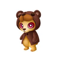 Brawny Bear Baby