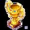 Gold Astral Pegasus Trophy