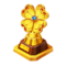 Gold Lucky Trophy