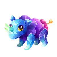 Rock Candy Rhino Juvenile