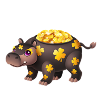 Hippopot-a-Gold Adult