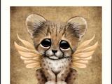 Libellester en Bladklauw: Welpjes