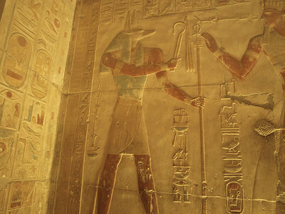 Temple of Seti I at Abydos (XVII)