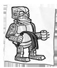 Beat em flog em robot