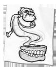 Haunted dentures