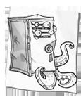 Ravenous locker pet
