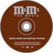 M&M's The Movie (1996) Soundtrack disc