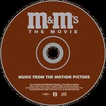 M&M's The Movie (1996) Soundtrack disc