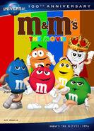 M&M's The Movie (1996) Universal 100th Anniversary Blu-ray