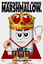 M&M's The Movie (1996) Mr. King Poster