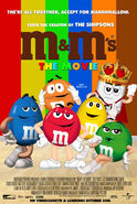 M&M's The Movie (1996) Home Video Promotional Poster