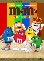 M&M's The Movie (1996) DVD Cover (1999)