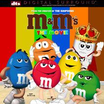 M&M's The Movie (1996) Laserdisc Cover