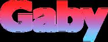 Gaby (2011) print logo
