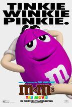 M&M's The Movie (1996) Mr. Pinkie Poster