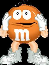 Orange M&M's The Movie