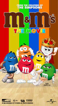 M&M's The Movie (1996) VHS Cover