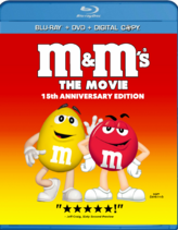 M&M's The Movie (1996) 15th Anniversary Edition Blu-ray (2011)
