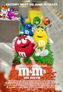 M&M's The Movie (1996) International Poster