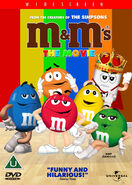 M&M's The Movie (1996) UK DVD Cover
