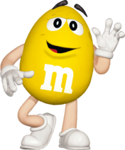 Yellow M&M's The Movie