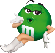 Green M&M's The Movie