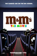 M&M's The Movie (1996) Teaser Poster