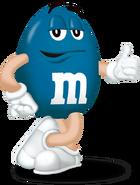 Blue M&M's The Movie