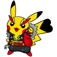 025Pikachu Rock Star Dream