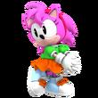 Amy Rose Classic 3D