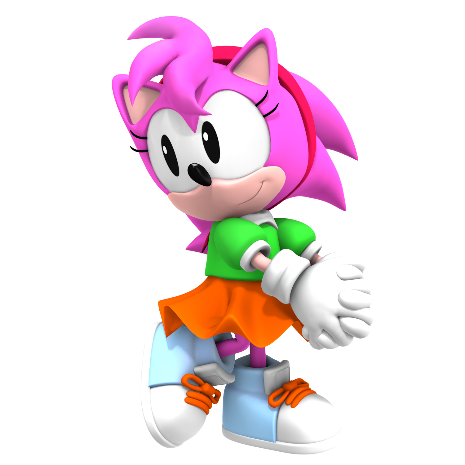 Image - Amy Rose Classic 3D.png