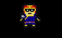 Captain falcon pixel art by radiochicken1-d7wkb57