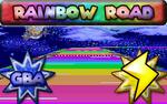 GBA Rainbow Road MKSR