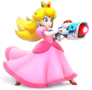 Peach - RabbidsKingdomBattle