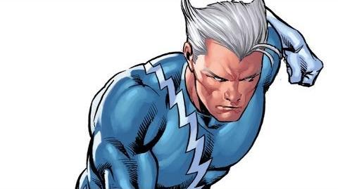 Superhero Origins Quicksilver