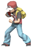 0.3.Pokemon Trainer Red clenching his fist